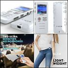 Digital Voice Activated Recorder HD Recording of Lectures and Meetings 8 GB New