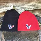 NFL-Houston Texans Home And Away Tailgate Logo Uncuffed Beanie- Go Titans!