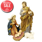 4 Piece Nativity Figurine Set Christmas Outdoor Yard Decor Decoration Jesus Mary