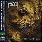 FOZZY All That Remains JAPAN CD VICP-62967 2005 OBI