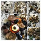 Vintage Buttons Lot Collection Shell MOP Glass Metal Celluloid