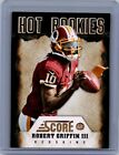 2012 Score #2 Robert Griffin III RC Washington Redskins Rookie Card!