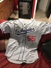 RUSSELL MARTIN AUTHENTIC LOS ANGELES DODGERS SPRING TRAINING JERSEY SIZE 48