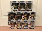 FUNKO POP LOT Of 11 Beauty And The Beast Exclusives!!!