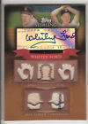 2010 TOPPS STERLING CHRONICLES GAME USED JERSEYS & AUTOGRAPH WHITEY FORD 01 10