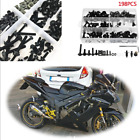 198Pcs Fairing Spring Screws Bolts Nuts Fastener Clips for Honda/Yamaha
