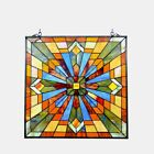 Mission Stained Glass Hanging Window Panel Home Decor Suncatcher 24