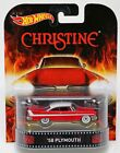 Hot Wheels 58 Plymouth Christine Retro Entertainment CFR11 NRFP 2014 Red 164
