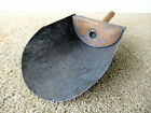 Antique Vintage Tin Scoop Grain Seed Primitive Country Store Barn Old Blue Paint