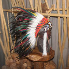 Chief Indian Headdress Feather Headdress American Native Warbonnet Feather Hat S