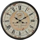 Large Wall Clock Vintage Farmhouse Roman Numeral Rustic Antique 32 Oversize 1PC