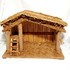 Wooden Nativity Manger Creche Stable Barn Replacement 10x1375x7 Large