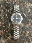 TAG Heuer 2000 Series Professional WK1113-1 Blue Dial Men's Watch