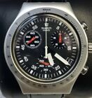 Swatch IRONY Swiss Made Chronograph Date 42mm Wrist Watch Excellent Condition