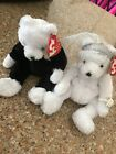 Ty Beanie Babies Set ~ BRIDE & GROOM the Wedding Bears ~ MINT with MINT TAGS