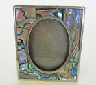 Alpaca Silver Mother Of Pearl Small Picture Frame