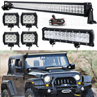 CREE 52inch 700W LED Work Light Bar Combo Truck Offroad For SUV Boat Jeep UTE
