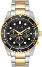 Bulova Mens 98A171 Quartz Marine Star Chronograph Black Dial Bracelet 43mm Watch