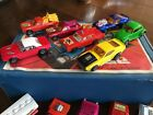 MATCHBOX HOT WHEELS VINTAGE 40 CAR LOT WITH CARY CASES 1960 70S RARE RED LINE