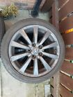 lexus is220d alloy wheels r 17 2qty Nearly new tyres