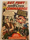SgtFury  His Howling Commandos 1 1st Nick Fury Signed Stan Lee  Jack Kirby
