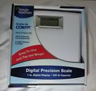Weight Watchers Scale Conair White LCD Digital Precision New