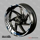 SUZUKI GSX-R 1000 motorcycle wheel decals rim stickers set Reflective kit 17 rim