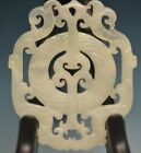 Exquisite Chinese jade Hand carved dragon lucky pendant sm02