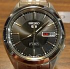 Seiko 5 Automatic SNKL23J1 Black Dial Stainless Steel + Black Leather band
