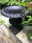 Late 1800's-1900's Antique CAST IRON GARDEN PORCH PLANTER URN