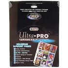 100 Pages Ultra Pro 9-Pocket Trading Card Display UV Protection Platinum Series
