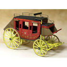 Concord Stagecoach Historically Accurate Wooden Model Kit 1:12 Scale