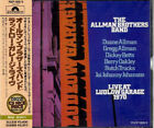 THE ALLMAN BROTHERS BAND Live At Ludlow Garage 197 JAPAN CD POCP-1908/9 1991 NEW