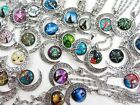 20 pieces wholesale cabochon moon necklaces jewelry bulk cheap jewelry