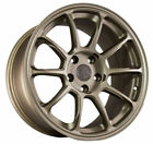18X9 +30 AodHan AH06 5X1143 Bronze Wheel Fit ACURA RSX TSX TL TLX CONCAVE 5X45