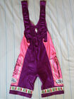 VINTAGE Fausto Coppi Cycling Bib Bike shorts  Womens large  Made in ITALY