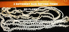 VINTAGE TATTING TRIMS 3 DIFFERENT STYLES NO FLAWS