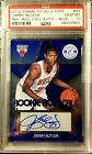 2012 Jimmy Butler Panini Totally Certified Rookie AUTO Roll Call BLUE PSA GEM 10