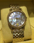 Invicta Ladies Gold-Tone Stainless Mother Of Pearl Dial Watch Swiss Made 3609