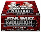 2016 Topps Star Wars EVOLUTION Collector's Trading Cards Hobby Box - 24 packs...
