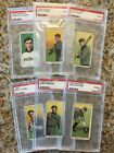 T206 Southern Leaguer Lot of 6 all PSA 2 and 25 3 OLD MILL BACKS