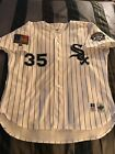 1994 Frank Thomas Chicago White Sox Authentic Russell Home Pinstripe Jersey 52