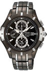SEIKO COUTURA SNAE57 CHRONOGRAPH ALARM DATE TWO-TONE ST.STEEL MEN'S WATCH