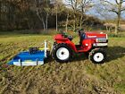 Yanmar F14D Used Tractor For Sale UK 4 Wheel Drive  New Flemming Topper