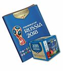 2018 Panini Russia FIFA World Cup Soccer Sticker Bundle with 50 Pack Box