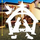 Giant Outdoor Nativity Scene Large Home Garden Yard Christmas Decoration 4 Foot