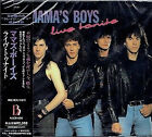 MAMA'S BOYS Live Tonite JAPAN CD ALCB-656 1992 OBI