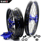 KKE 1.85*21/4.25*17 WHEELS RIMS SET FOR BMW F800GS ADVENTURE 2008-2017 BLUE HUB