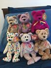 beanie babies Signature Bears Collection; 1999,2000,millennium, ty 2k, 2001,2002