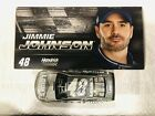 JIMMIE JOHNSON  CHAD KNAUS HAND SIGNED 2016 LOWES RAW FINISH 1 24 CAR